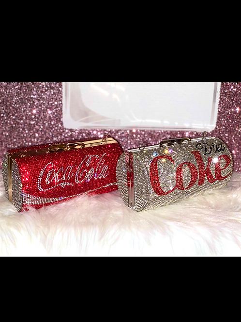 Coke Cola Bling Clutch