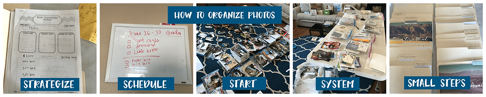 Easy way to organize lots of photos - quickly!