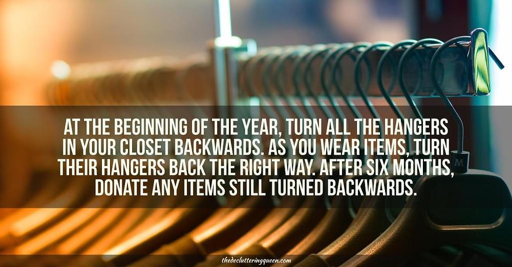 Backward Hanger Trick