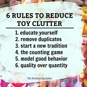 "Decluttering Your Kids Toys (Without Being ""that"" Mom) – 6 Rules to Reduce Clutter"