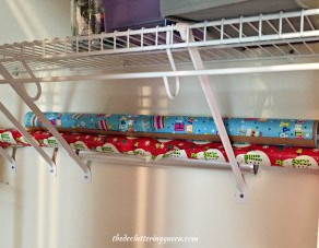 Super Simple Storage Tips – Wrapping Paper Storage