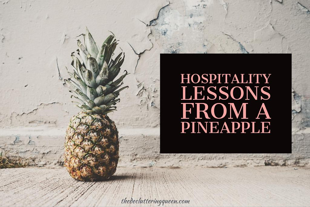 Hospitality Lessons from a Pineapple