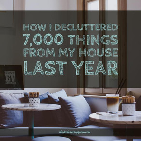 Decluttering All Year Long: 2,017 Things in 2017