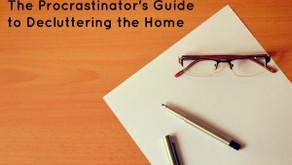 The Procrastinator's Guide to Decluttering the Home