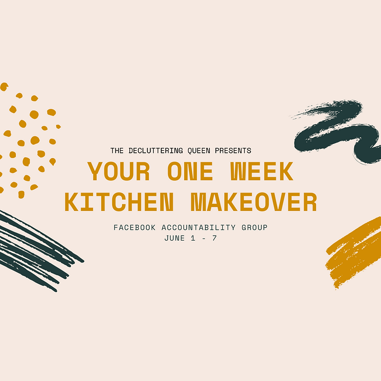 Your One Week Kitchen Makeover