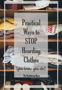 Practical Ways to stop hoarding clothes and finally reclaim your closet