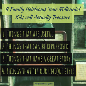 Four Types of Family Heirlooms Your Millennial Kids Will Treasure (and actually want)
