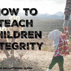 Why I Want My Kid to be the One that puts away the Stray Shopping Cart – Teaching Children Int