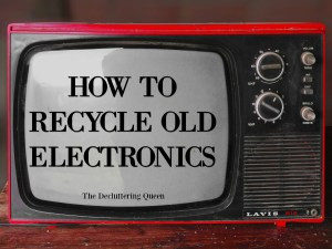 Easy Ways to Recycle Electronics