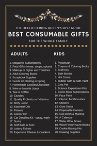 2017 BEST CONSUMABLE GIFTS for the whole family!