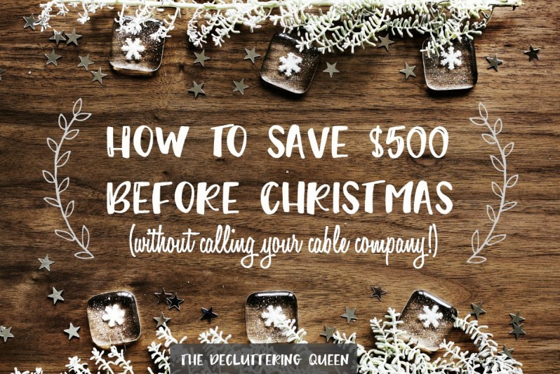 Five ways to $500 for Christmas in just ONE MONTH!
