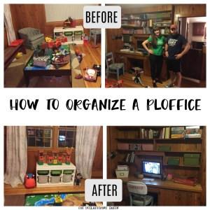 Organized Playroom Office ploffice