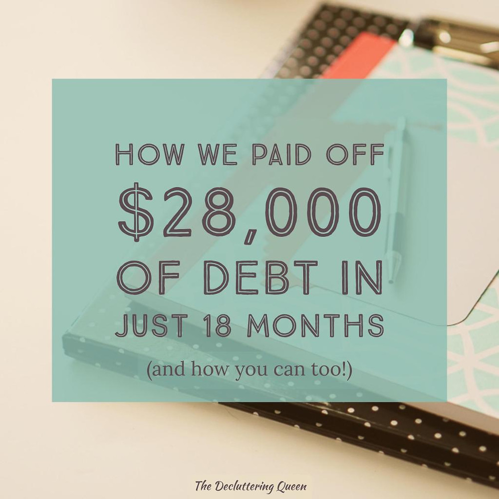 Learn how this family paid off over $28,000 of debt in just 18 months and you can do the same!