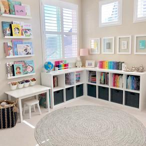 20 Cute & Tidy Playrooms