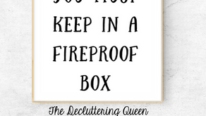 10 Things You Must Keep in a Fireproof Box (and you can buy one at Aldi's!)