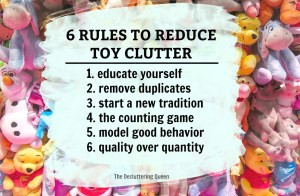 Use these 6 rules to declutter and organize toys