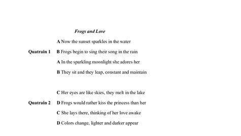 Frogs and Love