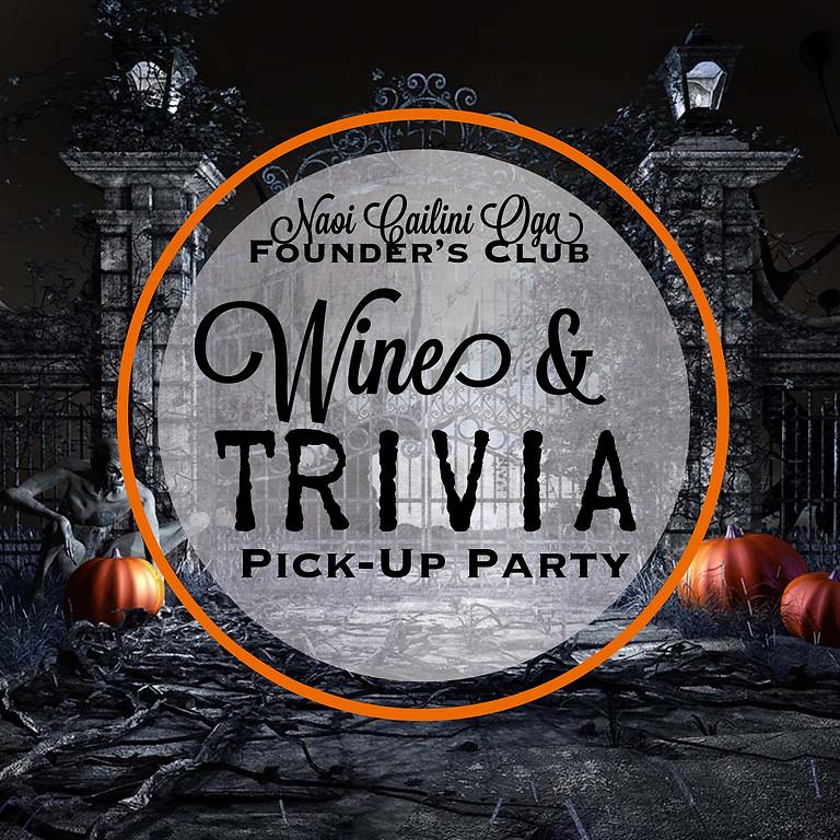 NCO Finder's Club Wine & Trivia Costume Event