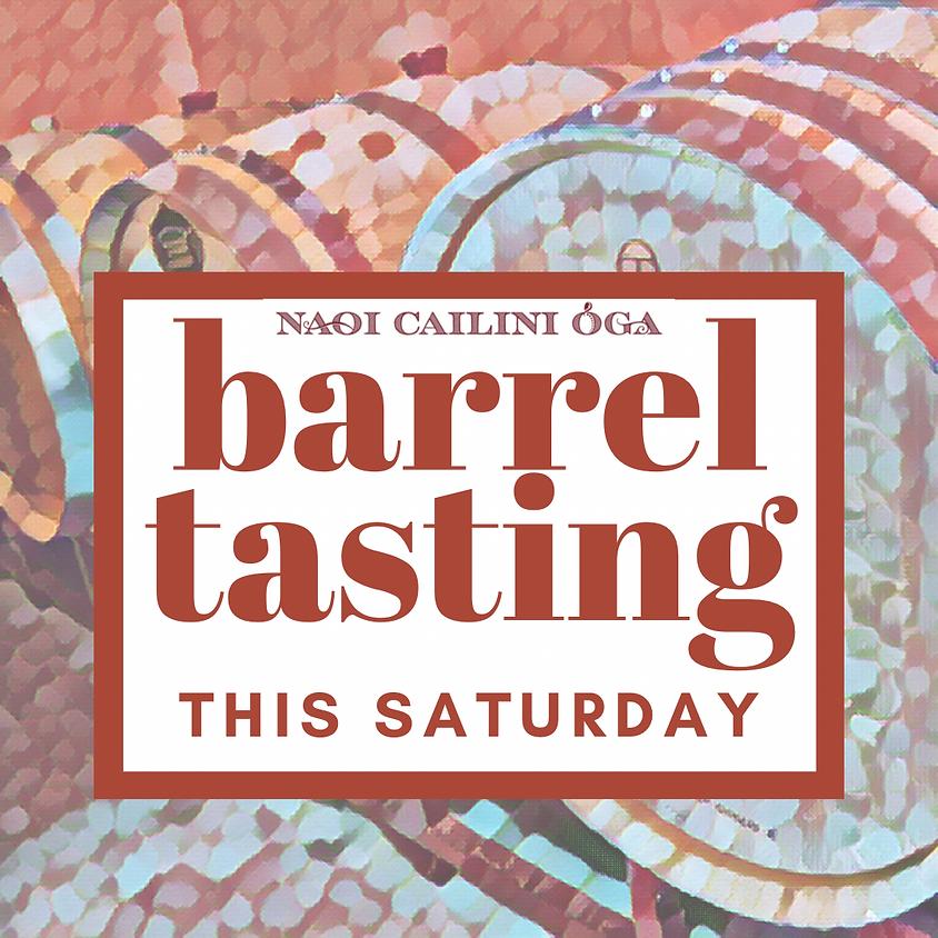NCO Barrel Tasting