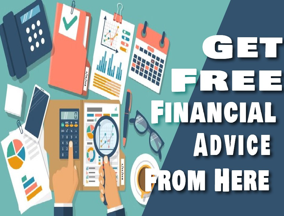 Image is about Financial Advice