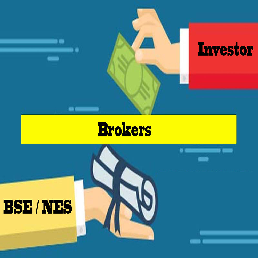 How Brokers Work between BSE/NES AND INVESTORS