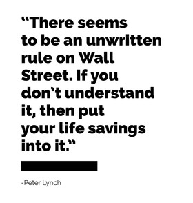 Quote of the Week - Peter Lynch