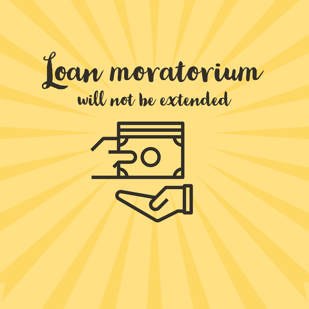 Loan moratorium will not be extended: Supreme Court