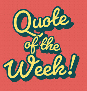 Quote of  the week - John Templeton