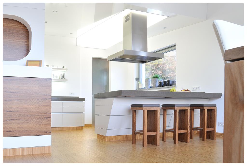 Lichtdecke - Kücheninsel