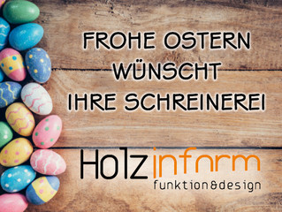 Frohe Osterfeiertage!