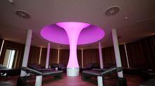 Neue Lichtsäule für die KissSalis Therme Bad Kissingen