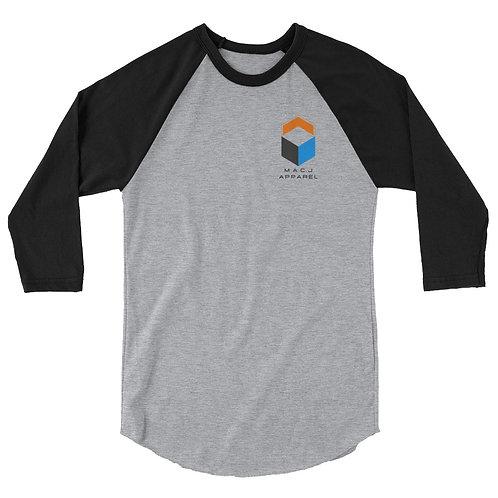 M.A.C.J Apparel Unisex 3/4 sleeve raglan shirt