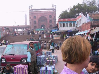 Moschee in Delhi
