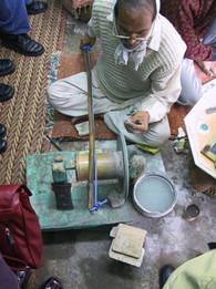Edelsteinschleifer in Agra