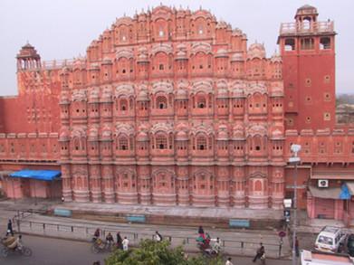 Palast der Winde Jaipur