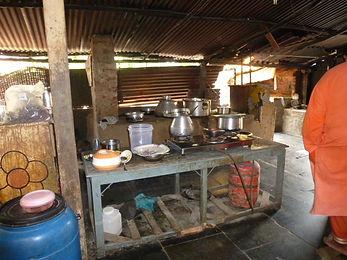 Küche bei Bruder Jack
