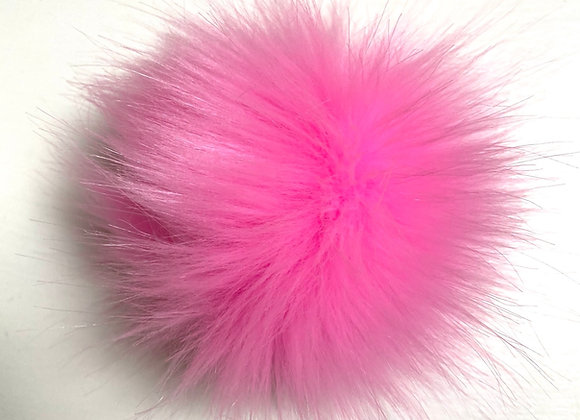 Dusk i fuskepels - rosa
