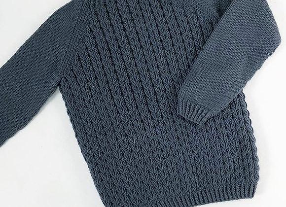 Kornblomst sweater - English Pattern