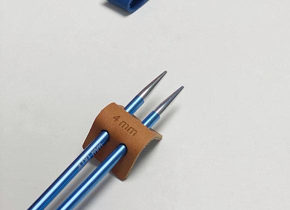 Pinnerholder i skinn 4 mm