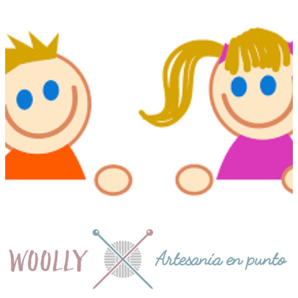 WOOLLYHANDMADE; ARTESANIA EN PUNTO PARA BEBE; CANASTILLA