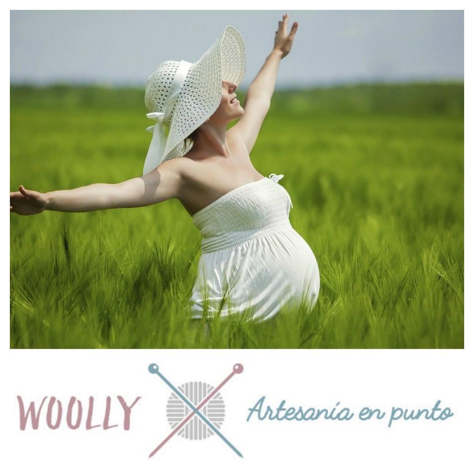 Woollyhandmade, artesanía en punto para bebé; handmade