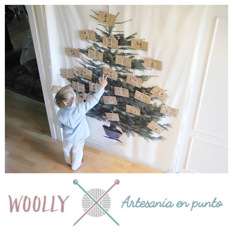 woollyhandmade, ropa de bebé hecha a mano. Artesanía en punto. Canastilla