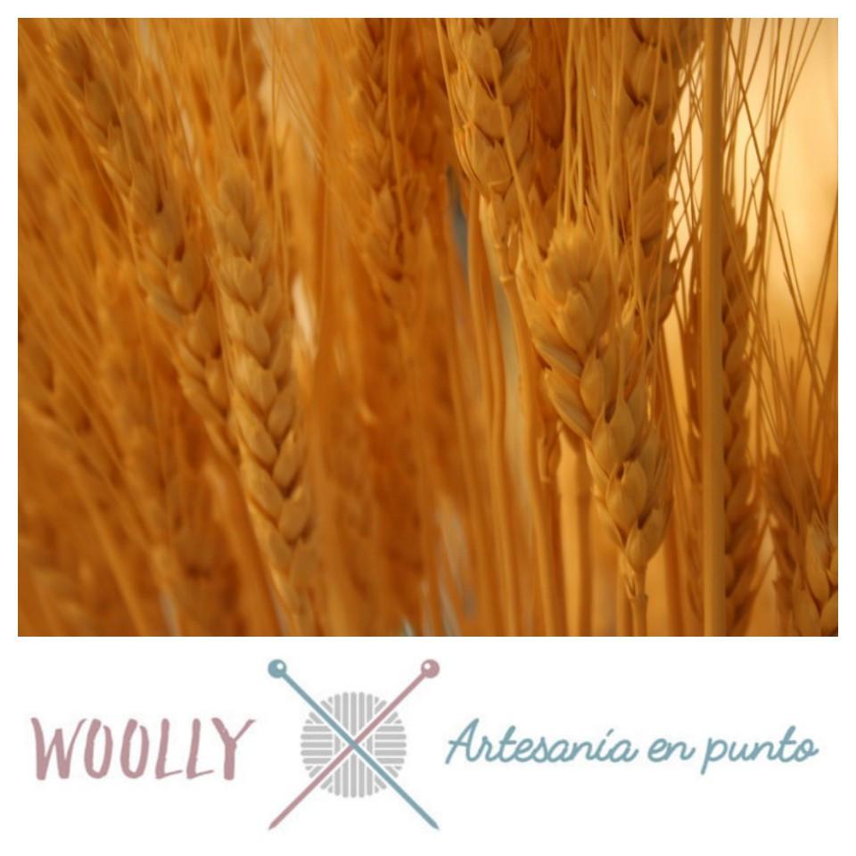 Woolly Handmade artesanía en punto para bebé; canastilla