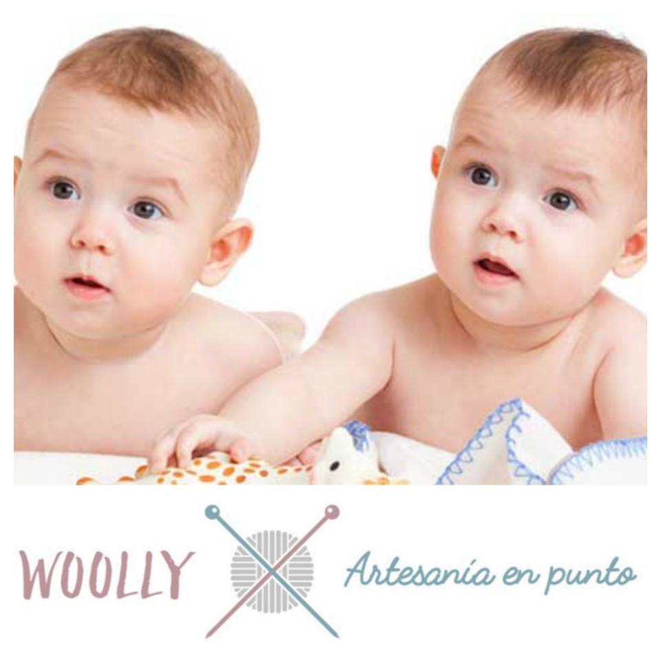 WoollyHandmade, ropa de bebé hecha a mano; artesanía en punto para bebé