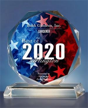 Voted Best of Arlington 2020 Gardening & Landscape
