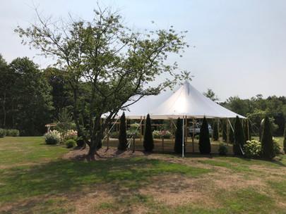 32x50 Tidewater Sailcloth Tent