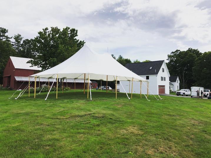 44x63 Tidewater Tent @ William Allen Farm
