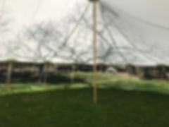 44x63 tidewater tent, sailcloth tent, rustic maine weddings, nautical wedings, tent rentals, wedding rentals