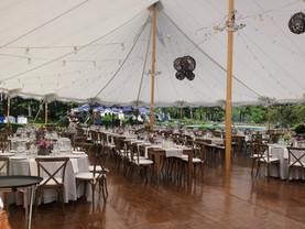 A Full Floor & Farm Tables