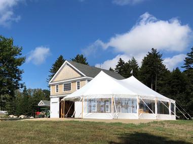 A Barn Setting on Coastal Maine